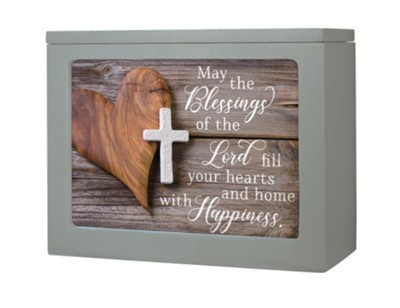 May the Blessings of the Lord Fill Your Hearts and Home Light Box  -