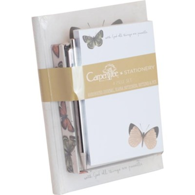 All Things Are Possible, Butterfly, Stationery Set  -