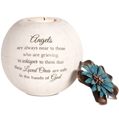 Angels are Always Near to Those Tealight Candle Holder  -