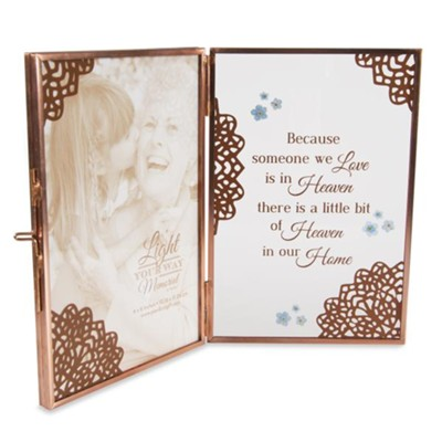 Because Someone We Love is in Heaven, Double Picture Frame  -