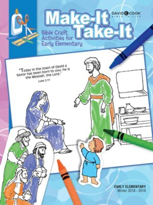 Bible-in-Life: Early Elementary Make It Take It, Winter 2018-19  -