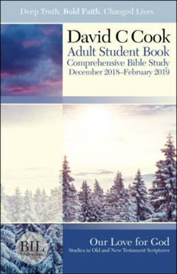 Bible-in-Life: Adult Student Book, Winter 2018-19  -