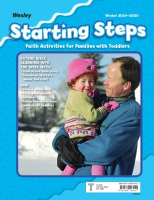 Wesley: Toddlers & 2s Starting Steps Craft (Take-Home), Winter 2019-20  -