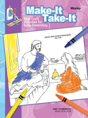 Wesley: Early Elementary Make It Take It Craft Book, Winter 2019-20  -