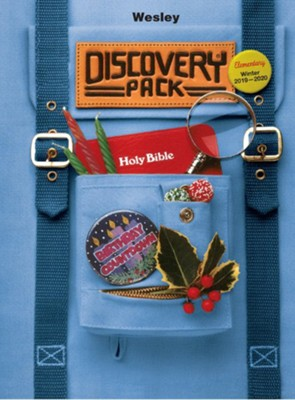 Wesley: Elementary Discovery Pack Craft Book, Winter 2019-20  -