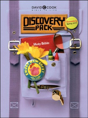 Bible-in-Life: Elementary Discovery Pack (Craft Book), Spring 2019  -