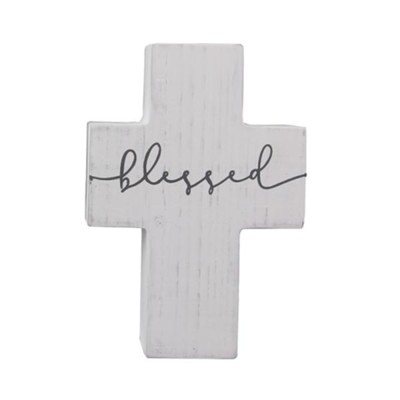 Blessed Wood Wall Cross  -     By: Faith