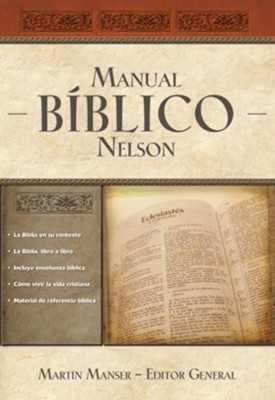 Manual Bíblico Nelson, eLibro  (The Nelson Bible Companion, eBook)  -     Edited By: Martin Manser     By: Martin Manser(Ed.)