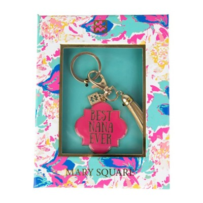 Best Nana Ever Keychain, Boxed  -     By: Morgan Alley