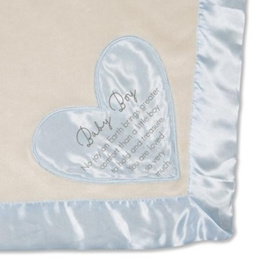 Baby Boy, You are Loved so Very Much, Plush Blanket, Blue  -