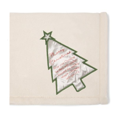 Merry Christmas, Plush Blanket  -