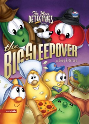 The Mess Detectives: The Big Sleepover - eBook  -     By: Doug Peterson