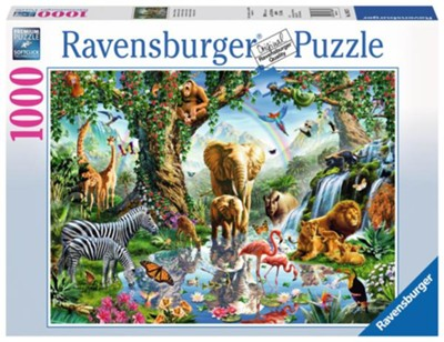 Adventures in the Jungle Puzzle, 1000 Pieces  -