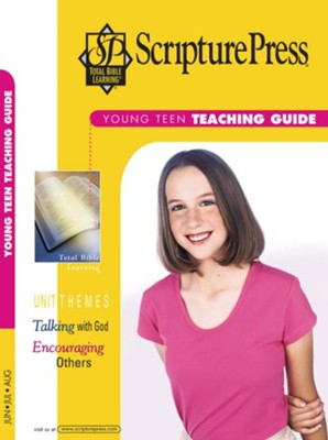 Scipture Press: Young Teen Teaching Guide, Summer 2018  -