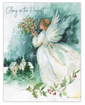 Angel of Christmas Cards, Box of 18  -     By: Susan Winget