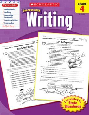 Scholastic Success with Writing, Grade 4  -