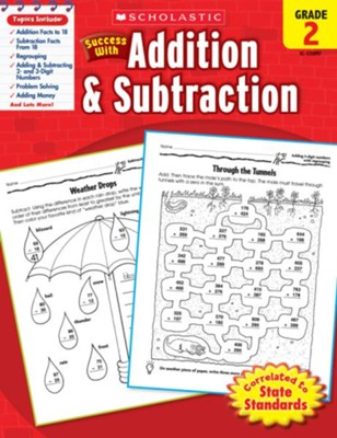 Scholastic Success with Addition & Subtraction, Grade 2  -