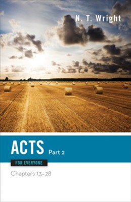 Acts for Everyone, Part Two: Chapters 13-28 - eBook   -     By: N.T. Wright