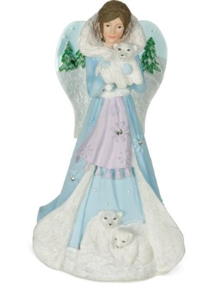 Courage Angel Figurine  -