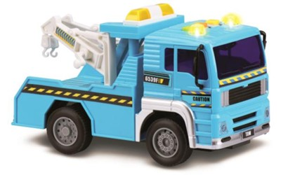 Lights and Sounds Tow Truck  -