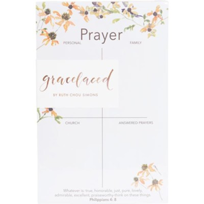 Whatever is True Prayer Notepad  -     By: Ruth Chou Simons