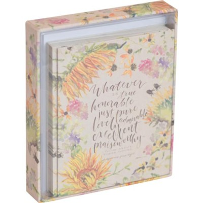 Whatever is True Cards, Box of 12  -     By: Ruth Chou Simons