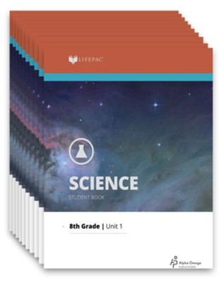 Lifepac Science, Grade 8 (General Science 2), Workbook Set   -     By: Alpha Omega