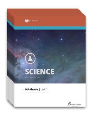 Lifepac Science, Grade 9 (General Science 3), Workbook Set  -     By: Alpha Omega