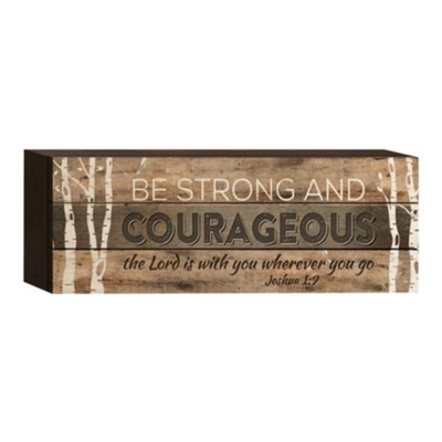 Be Strong and Courageous, Box Art  -