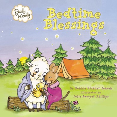 Really Woolly Bedtime Blessings  -     By: Bonnie Rickner Jensen    Illustrated By: Julie Sawyer Phillips