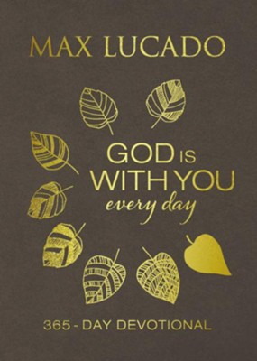 God Is With You Every Day, Large Print  -     By: Max Lucado