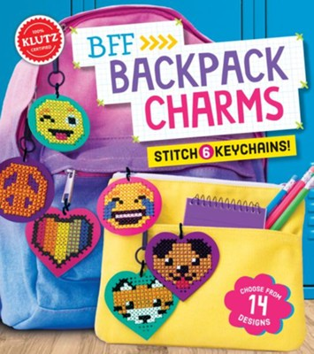 BFF Backpack Charms  -