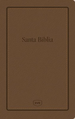 Biblia RVR Letra Grande Tam. Manual, Piel Imit. Marron  (RVR Large Print Handi-Size Bible, Soft Leather-Look, Brown) - Imperfectly Imprinted Bibles  -