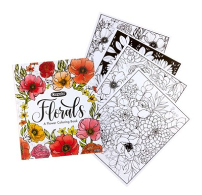 Florals, A Flower Coloring Book - Christianbook.com