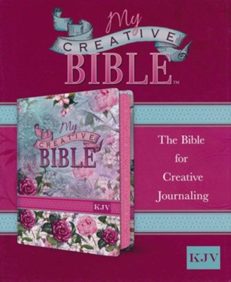 KJV My Creative Bible, Silky Floral Flexcover  -