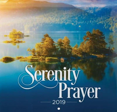 2019 Serenity Prayer Wall Calendar  -