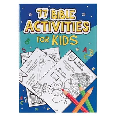 77 Bible Activities for Kids  -