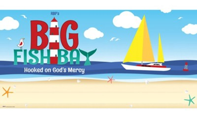 Big Fish Bay: Banner 3' x 6'  -     By: Big Fish Bay