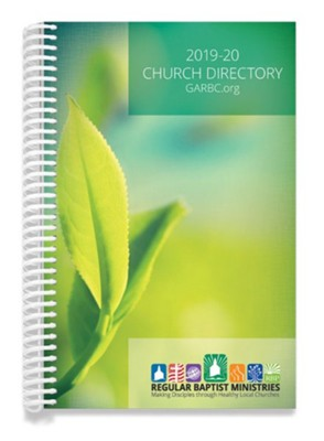 2019-20 GARBC Church Directory  -