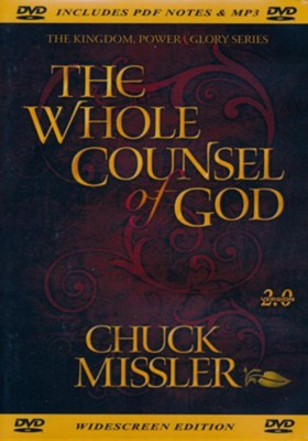 Whole Council of God - DVD  -     By: Chuck Missler