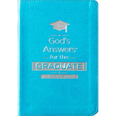 God's Answers for the Graduate: Class of 2020 - Teal NKJV  -     By: Jack Countryman
