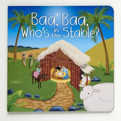 Baa, Baa, Who's in the Stable, Hardcover  -