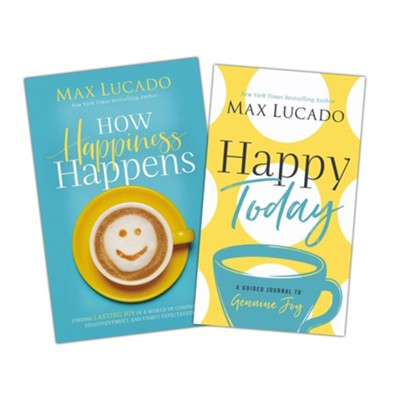 How Happiness Happens & Happy Today Guided Journal 2-Volume Set, Hardcover  -     By: Max Lucado