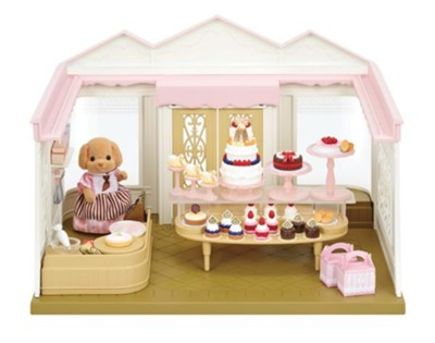 Calico Critters, Village Cake Shop  -