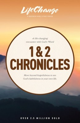 1 & 2 Chronicles, LifeChange Bible Study  -     By: The Navigators