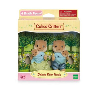 Calico Critters, Splashy Otter Family  -