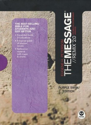 The Message//REMIX 2.0, Purple Swirl  -     By: Eugene H. Peterson