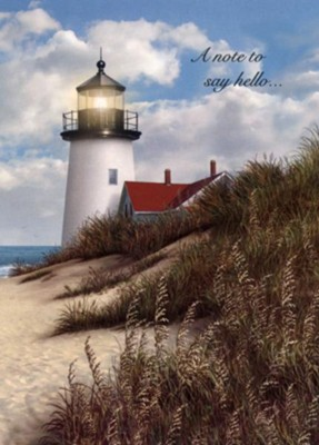 Thinking of You, Lighthouse Cards, Box of 12  -     By: Alan Giana