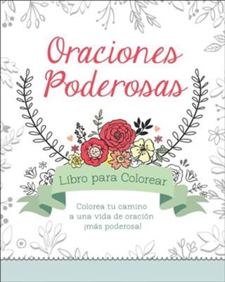 Oraciones Poderosas, Libro para Colorear  (Power Prayers Coloring Book)  -     By: Compiled by Barbour Staff