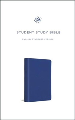 ESV Student Study Bible, TruTone, Navy Blue  -